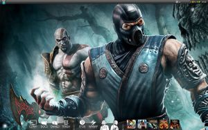 Mortal Kombat 9 Wallpaper by HarryBana