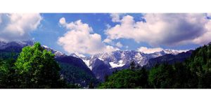 Alpenpanorama by rontz