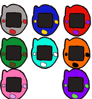 Digivice by DreamNotePrincess