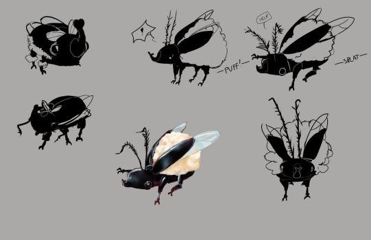 Woolly Beetle Concept by EssenceOfEvil