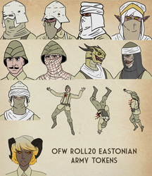 OFW Eastonian Army Tokens by goeliath