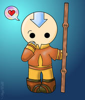 Aang :3 by SkyeWall