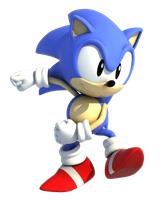 Classic Sonic The Hedgehog by TBSF-YT