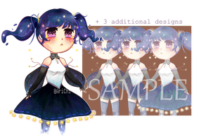 Adoptable Auction (CLOSED) : Galaxy Girl by AriChiharu