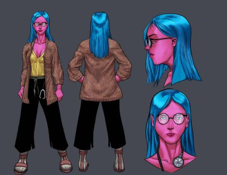 shadow agency character design 4 by rewinde