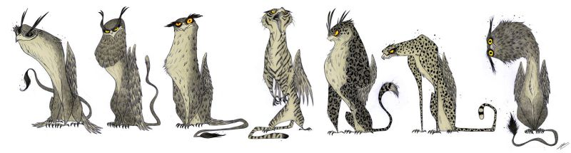 GRIFFINS SKETCHES by GrievousGeneral