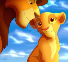 Mufasa and Kiara by Anjali2010