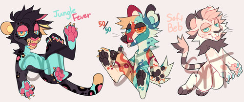 Lil Fursuit Designs by Sweet-n-treat