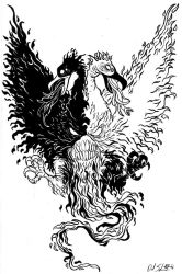 Two-Headed Phoenix by schulore