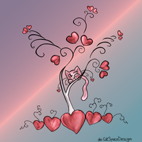 Tree of Love by CatSpaceDesign