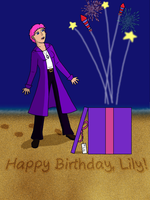 Happy Birthday, Lily by starhavenstudios