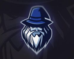 Dark Wizard Mascot Logo | For Sale by mascotlogocaptain