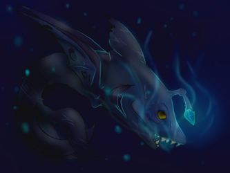 In the darkness of the sea by MagicalRave