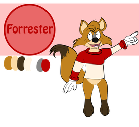 Forrester 2018 Reference Sheet by Fawnadeer