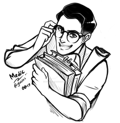 Medic's glasses by PatientZeroes