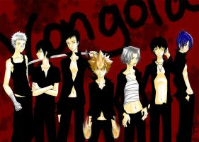 Vongola Famiglia by Inaho