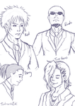 Before Crisis FFVII 3am Doodles by IntrovertDoll