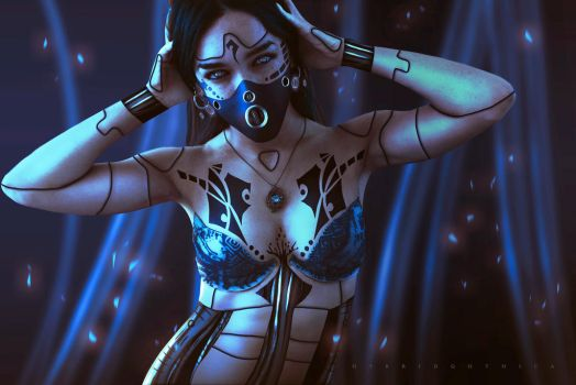 CyberGenetisis. by hybridgothica