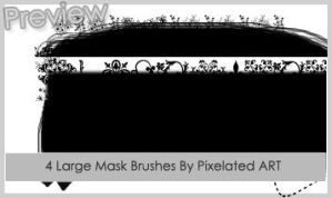 Large Mask Brushes by pixelatedarts