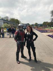 Ant Man and Black Widow by Lassic