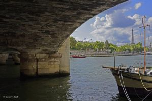 Parisian walk by Yousry-Aref