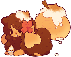 [Custom Flufferbun] Snickerdoodle Cupcakes by blushbun