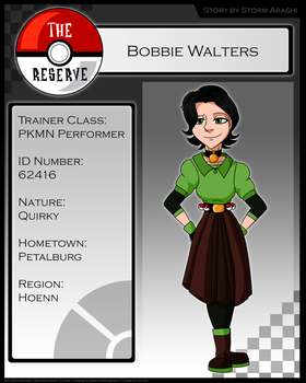 TR: Bobbie Walters by Aileen-Rose