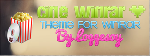 Cine WinRAR theme for WinRAR by Loqqesoy