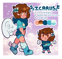 Icarus reference by Nemufrog