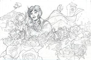 Rose City Pencils by TerryDodson