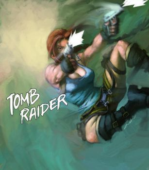 tomb raider by cuson