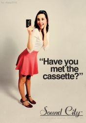 Have you met the cassette? by lizzy2012
