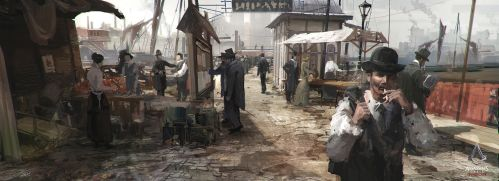 Assassin's Creed Syndicate concept art by tnounsy