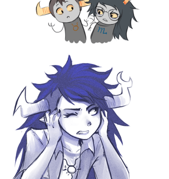 Tavros get out (gif) by ikimaru-art