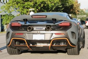 Chicane Grey 675LT by SeanTheCarSpotter