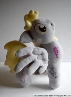My Derpy Autographed Plush up for Sale! by RaptorArts