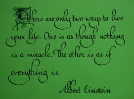 quote from A.Einstein by paris-dreams