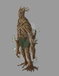 Guardian of theWoods by jgabrielgarin