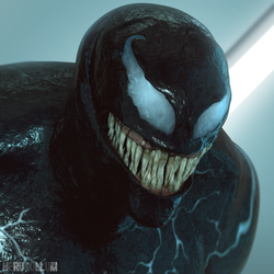 Venom - Cinema 4D by HeroGollum