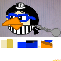 Prisoner Director (Me) with Color by Mario1998