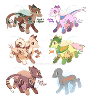 [CLOSED] Heart Lure Flatsale: Batch 1 by dracooties