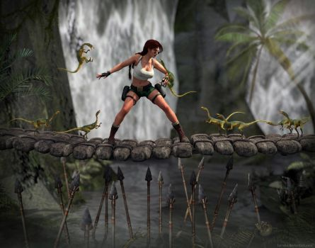 Tomb Raider III - Attack of majority by Larreks