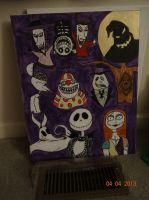nightmare before christmas by KPRITCHETT14