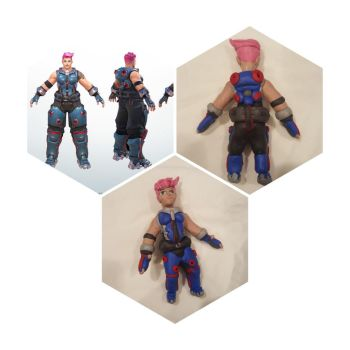 Nearly finished Clay Zarya figure by aggroh