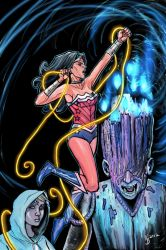 Wonder Woman by thecarrierone