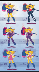 Evil Amy Designs by Pedrovin