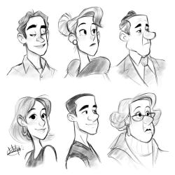 One Shape Procreate Sketches by LuigiL