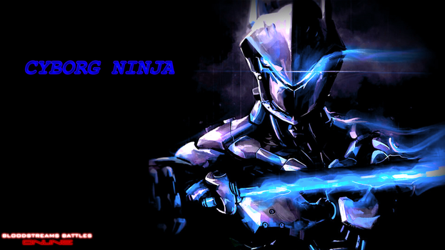 BB Online Cyborg Ninja wallpaper by Icepenguins101