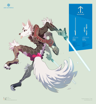 Laser Fox - pink edition by Florian-K