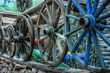 Wooden Wheels 2. by bigzoso